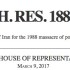 115th Congress – Resolution Seeks Accountability & Justice for Iran Massacre