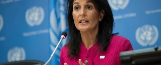 Ambassador Nikki Haley